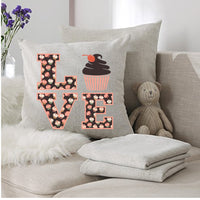 Cupcake Love Sublimation Design