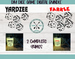 Yardzee & Farkle Dice Game Bundle