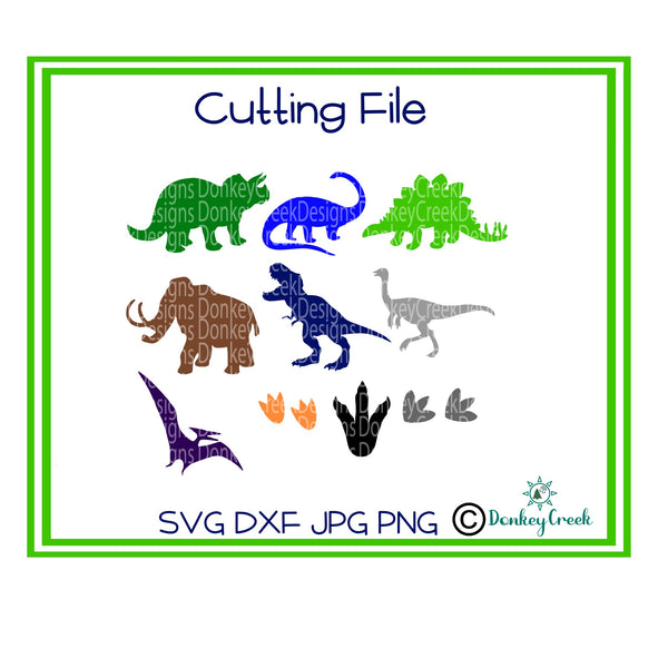 Dinosaur SVG bundle