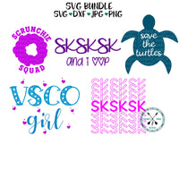 VSCO Girl SVG Bundle