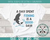 Father's Day fishing quote SVG