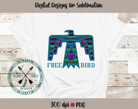 Free Bird Sublimation PNG