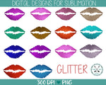 Glitter Lips Sublimation Bundle