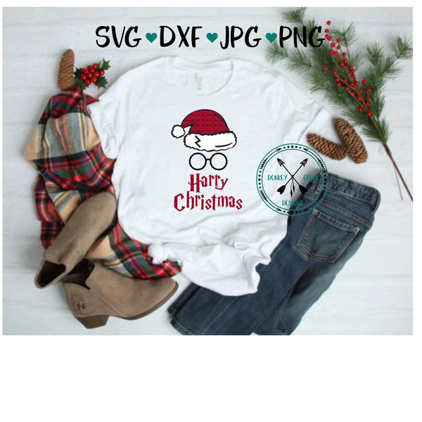 Harry Christmas SVG