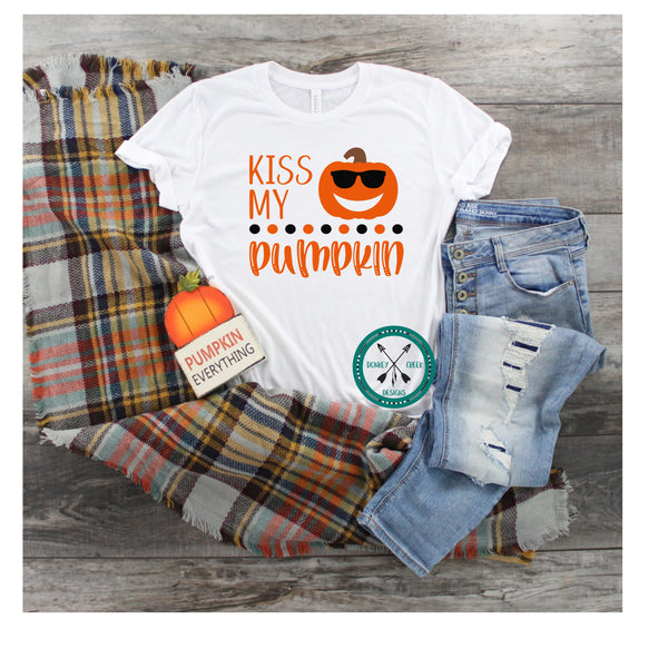 Kiss my pumpkin SVG