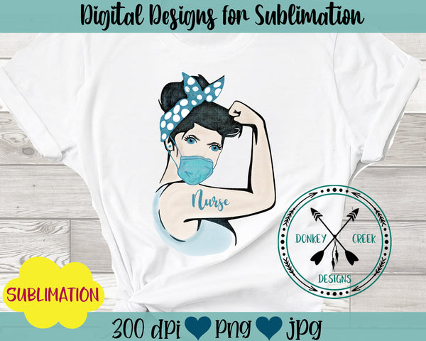 Nurse Rosie  Sublimation Design