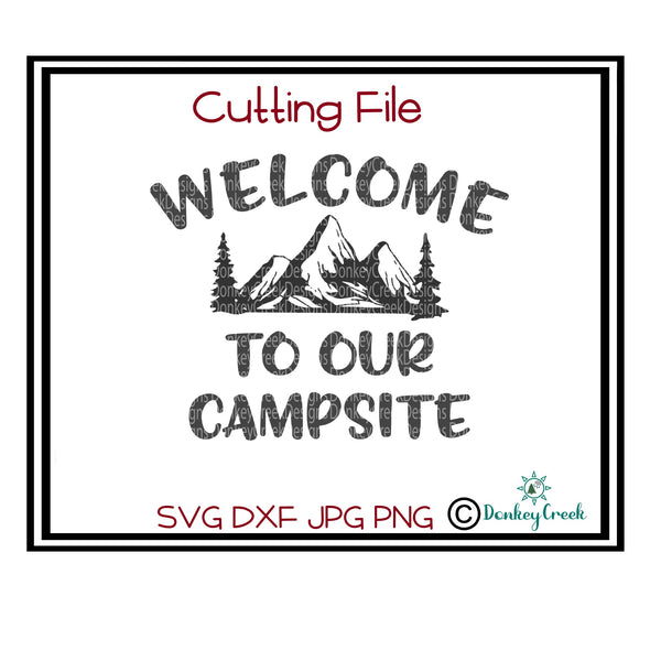 Welcome to our campsite SVG