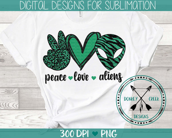 Peace Love Scouts Sublimation Design