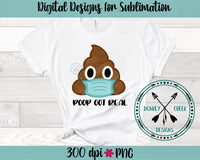 Hand Drawn Poop Got Real PNG
