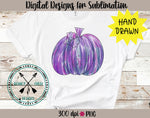 Hand Drawn WatercolorPumpkin PNG