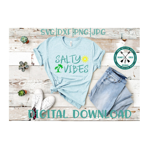 Salty Vibes svg