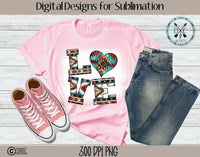 Valentine's Day Sublimation Design
