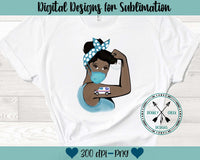 USPS Rosie Sublimation Design
