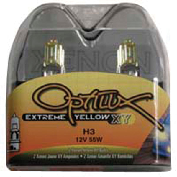 Hella Optilux H3 12V/55W XY Extreme Yellow Bulb