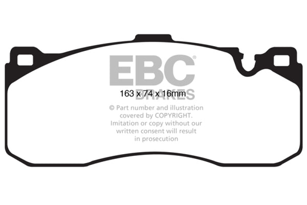 EBC 08-10 BMW 135 3.0 Twin Turbo Greenstuff Front Brake Pads