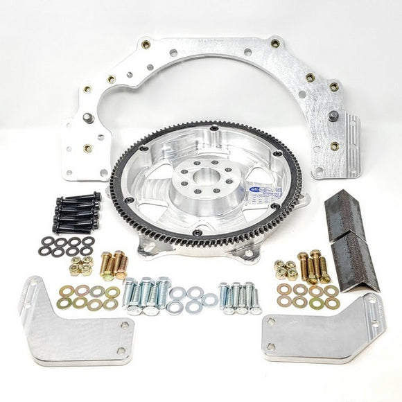 BMW N54, N55, S55 Billet Aluminum Flex Plate Transmission Adapter To GM Transmissions & Converters