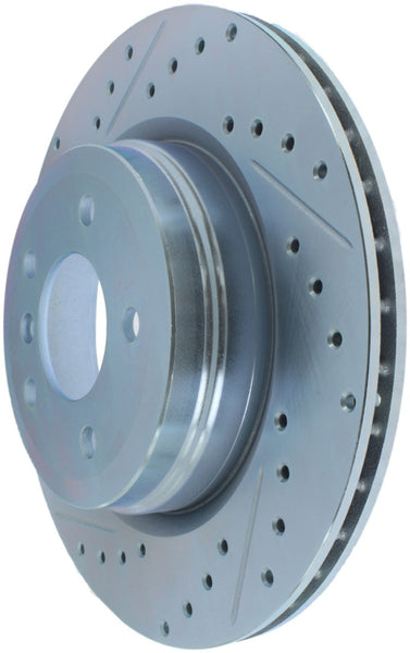StopTech Select Sport 07-13 BMW 335i Slotted & Drilled Vented Right Rear Brake Rotor