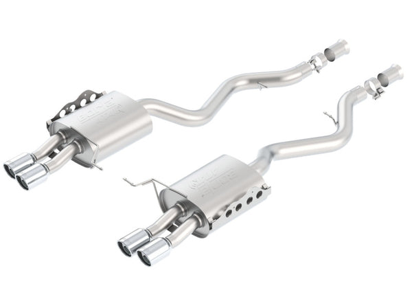 Borla 08-13 BMW M3 Coupe 4.0L 8cyl 6spd/7spd Aggressive ATAK Exhaust (rear section only)
