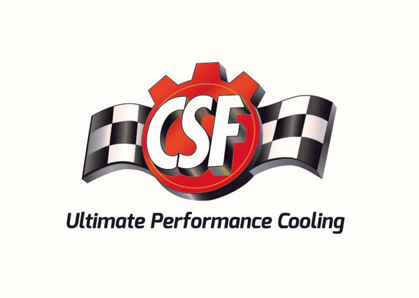 CSF 12-16 BMW M5 (F10) / 12-18 BMW M6 (F06/F12/F13) Twin Charge-Air-Cooler Set - Crinkle Black