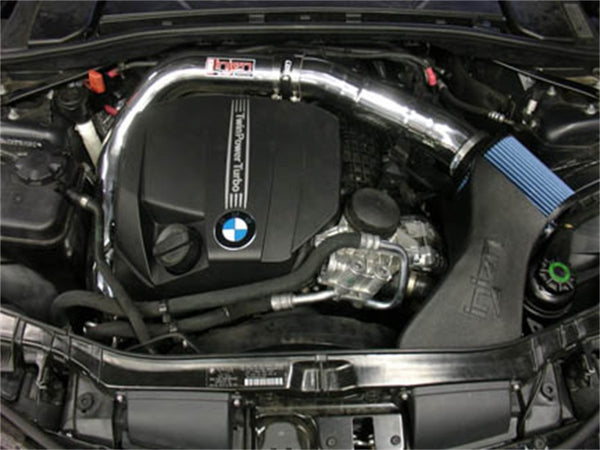 Injen 11 BMW E82 135i (N55) Turbo/E90 335i Polished Tuned Air Intake w/ MR Technology, Air Fusion