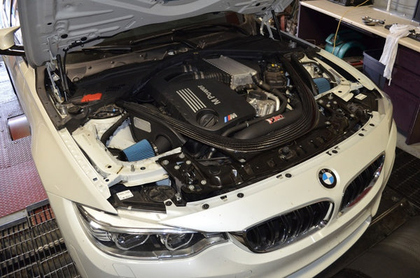 Injen 2015 M3/M4 3.0L Twin Turbo Wrinkle Black Short Ram 2pc. Intake System w/ MR Technology