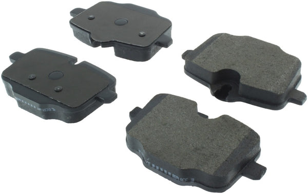 StopTech 11-17 BMW 530i Street Brake Pads w/Shims & Hardware - Rear