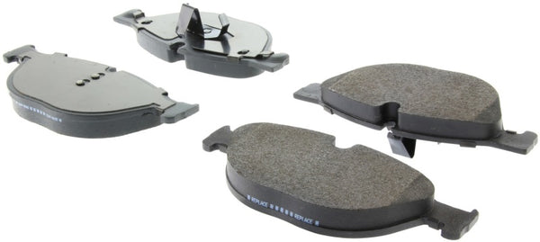 StopTech 09-17 BMW 5-Series Street Brake Pads w/Shims - Front