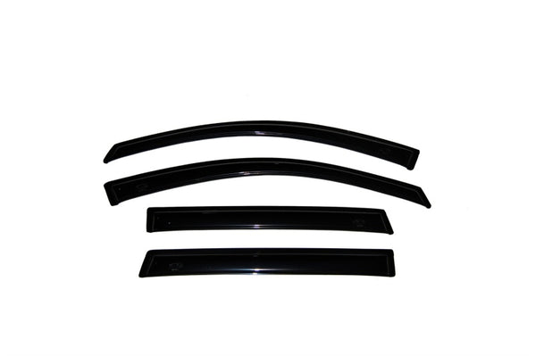 AVS 01-06 BMW X5 Ventvisor Outside Mount Window Deflectors 4pc - Smoke
