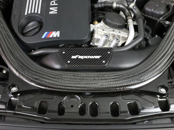 aFe Magnum FORCE Stage-2 Intake Carbon Fiber Trim Piece Fits Intakes 54-76305 Or 54-13032R