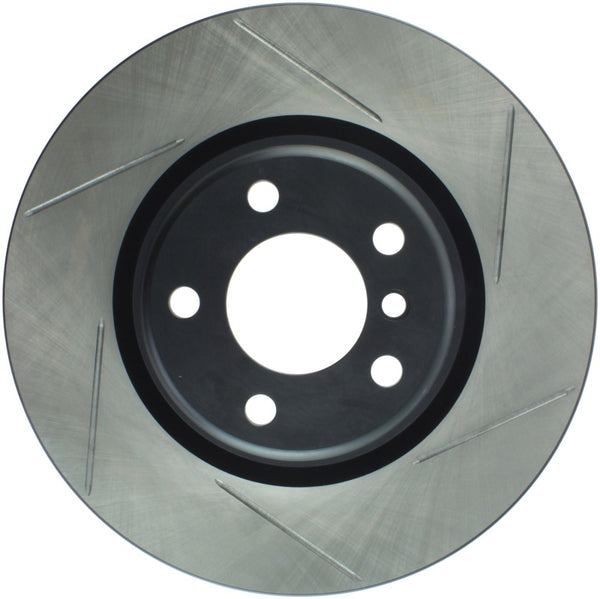StopTech 16-18 BMW 320i Sport Slotted Left Rear Rotor