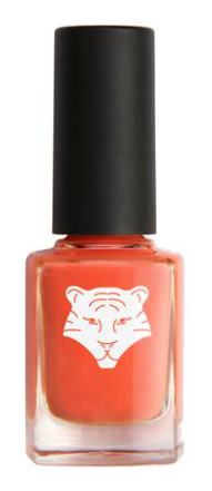 All Tigers - Natural & vegan nail lacquer CORAL ORANGE 195 'SEIZE THE MOMENT'