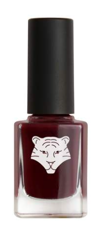 All Tigers - Natural & vegan nail lacquer NIGHT RED 208 'WEATHER THE STORM'
