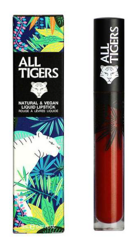 All Tigers - Matte lipstick 889 BROWN RED 'COMMAND RESPECT'