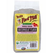 Load image into Gallery viewer, Bob's Red Mill Organic Buckwheat Flour 623g