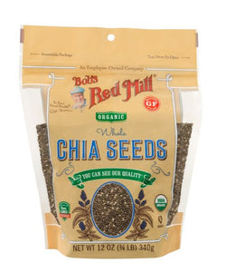 Bob's Red Mill Organic Chia Seeds 340g
