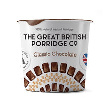 Load image into Gallery viewer, The Great British Porridge - Classic Chocolate 60g Cup
