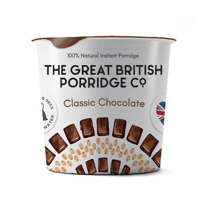 The Great British Porridge - Classic Chocolate 60g Cup
