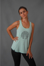Load image into Gallery viewer, Pur'Nam Make a wish - Women Tank top - Green