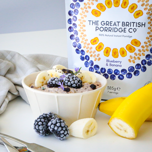 The Great British Porridge - Blueberry & Banana 385g