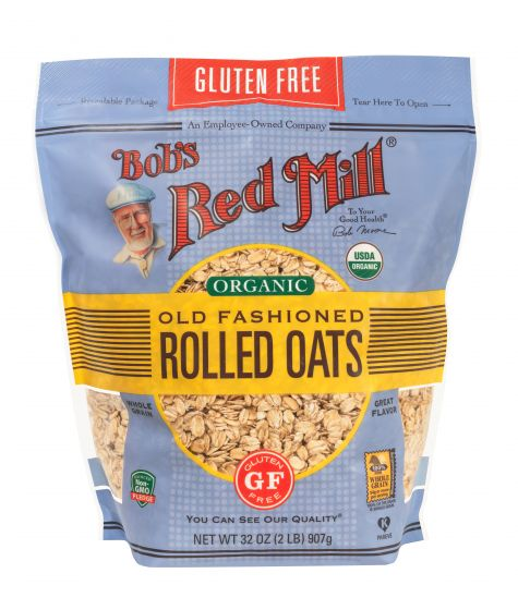 Bob's Red Mill Gluten Free Organic Thick Rolled Oats Old Fashioned 907g