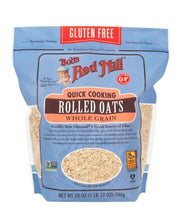 Load image into Gallery viewer, Bob's Red Mill Gluten Free Organic Thin Rolled Oats Quick Cooking 794G