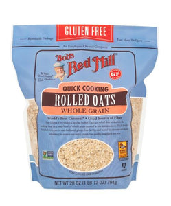 Bob's Red Mill Gluten Free Organic Thin Rolled Oats Quick Cooking 794G