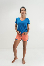 Load image into Gallery viewer, Pur'Nam Blue lagoon T-shirt - Women