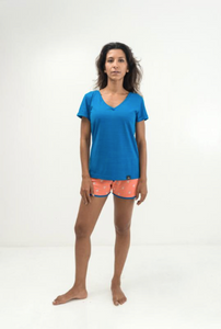 Pur'Nam Blue lagoon T-shirt - Women