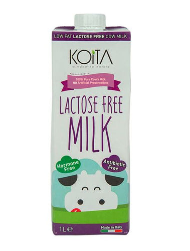 Koita Lactose Free Low Fat Cow Milk 1L