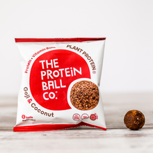 Load image into Gallery viewer, Goji & Coconut Vegan Protein Balls 45g - 6Balls