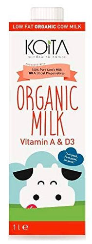Koita Organic Low Fat Milk 1L