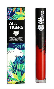 All Tigers - Matte lipstick 888 PURE RED 'CALL ME QUEEN'