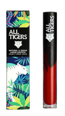 All Tigers - Matte lipstick 887 BURGUNDY RED 'LIVE FEARLESS'