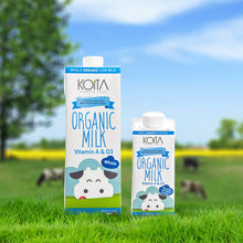 Load image into Gallery viewer, Koita Organic Whole Fat Milk Pack of 12L
